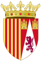 Coat of Arms of Juana Enríquez, Queen of Aragon.svg