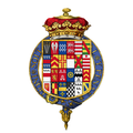 Coat of arms of Charles Paulet, 2nd Duke of Bolton, KG, PC.png