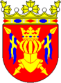 Coat of arms of historical province of Finland Proper in Finland.png