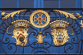 Coats of arms, balcony of Capitole of Toulouse 12.JPG