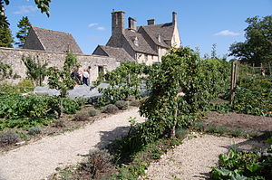 Cogges Manor Farm - The walled garden is a key attraction.  It has been restored, and subsequently maintained, entirely by voluntary effort.