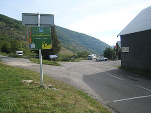 Col de Portet d'Aspet - The summit of the Col de Portet d'Aspet