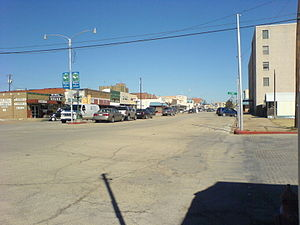 Coleman, Texas - Image: Coleman downtown 1