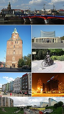 Collage of views of Gorzow Wielkopolski, Poland.jpg