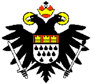 Coat of arms of Cologne - Eagle coat of arms