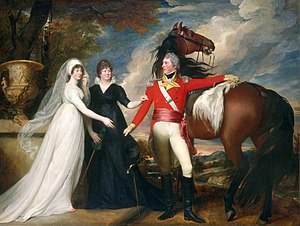83rd (County of Dublin) Regiment of Foot - Colonel William Fitch and His Sisters Sarah and Ann Fitch by John Singleton Copley