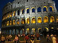 Colosseo at night, Rome.JPG