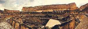 Chronography of 354 - Image: Colosseum Panorama