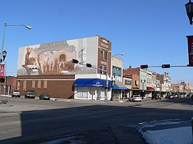 Columbus, Nebraska 2500 block 13th St from SW.JPG