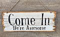 Come In sign in Kingscliff, New South Wales.jpg