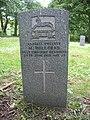 Commonwealth War Grave in Jarrow Cemetery (WW1-22) - geograph.org.uk - 1603882.jpg