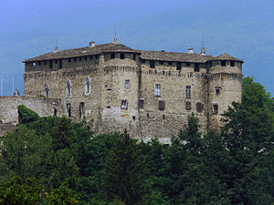 Val di Taro - The castle of the Landi family at Compiano