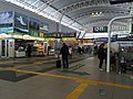 Concourse for Shinkansen tracks at Hachinohe station 2014-03-12.JPG