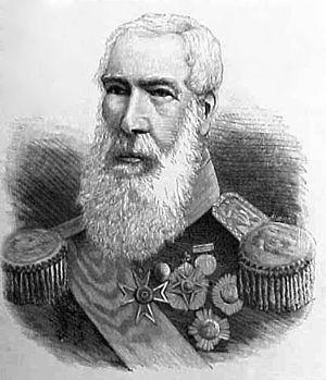 George Sartorius - Sir George Rose Sartorious, Count of Penha Firme