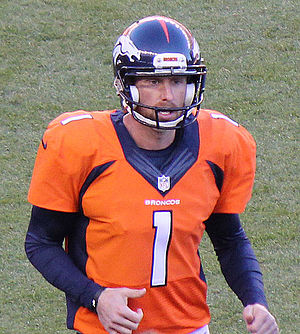 Connor Barth - Barth with the Denver Broncos in 2014