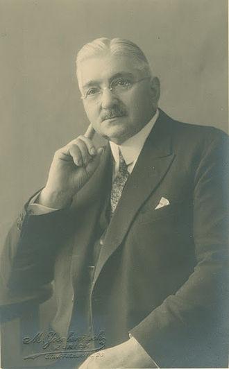 Conrad C. Binkele - Conrad C. Binkele, anno 1931
