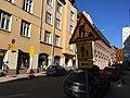 Construction, pedestrian detour, lane shifts (28437299788).jpg