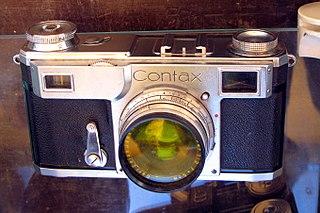 Contax Japanese camera brand