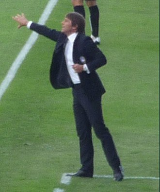 2017 FA Cup Final - Chelsea manager Antonio Conte was on course to win the domestic double in his first season at the club.