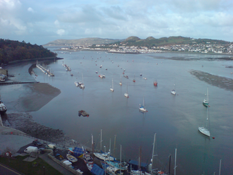 Conwy Bay - The harbour at Conwy