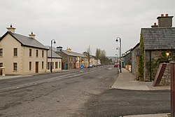 The main street in Coolaney