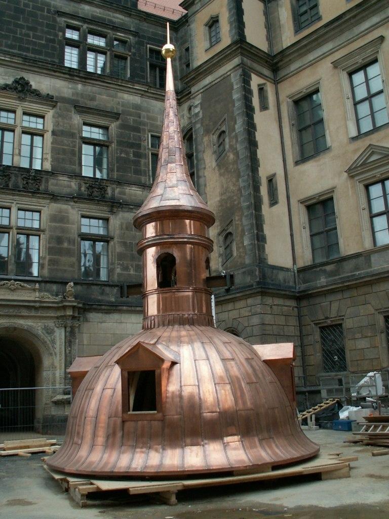 Copper Roof Dresden 20070114