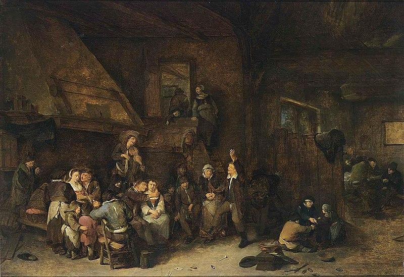 File:Cornelis Pietersz. Bega - Tavern Interior - WGA01575.jpg