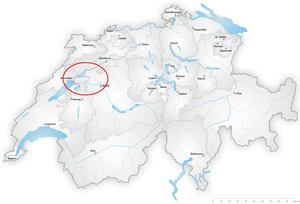 Jura water correction - Area of Jura water correction.