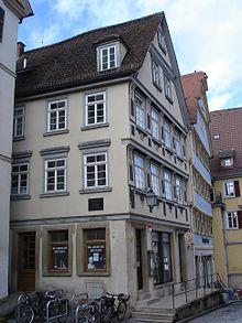 Cottas Wohnhaus in Tübingen (Quelle: Wikimedia)