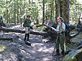 Couple Hiking on Trail-Mt Hood (23454923895).jpg