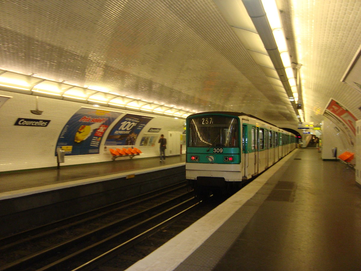 Courcelles (Paris Métro) - Wikipedia