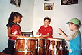 Cours de percussion afro-péruvienne à El Carmen 02.JPG