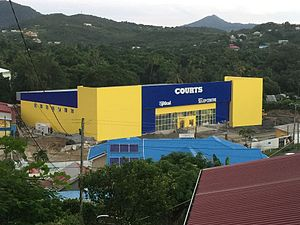 Unicomer Group - Courts mega store in Marisule, Saint Lucia