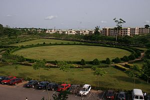 Covenant University - A View of Covenant University Campus