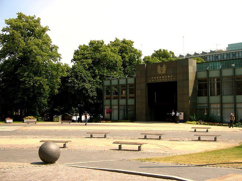 File:Coventry                       University square.jpg