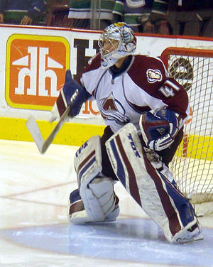 Craig Anderson (ice hockey) - Anderson during his tenure with the Colorado Avalanche.