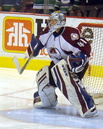 Craig Anderson (ice hockey) - Anderson during his tenure with the Colorado Avalanche.