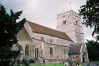 Cranborne - Cranborne church
