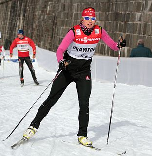 Chandra Crawford Canadian cross-country skier