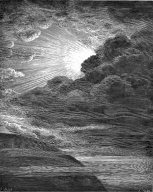 Darkness - The Creation of Light, by Gustave Doré