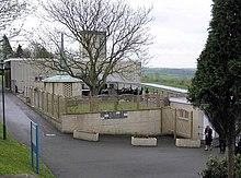 Un crematorio in Inghilterra