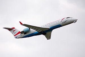 CRJ200 der Tyrolean Airways