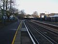 Crofton Park stn look north.JPG