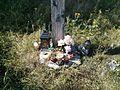 Cross - Woynillowicz family hill in Sawiczy - 06.jpg