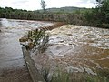 Crossing ford in flood, Quarteira River, 08 May 2016 (3).JPG
