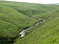 Crowden Little Brook looking to Meadow Clough - geograph.org.uk - 469208.jpg