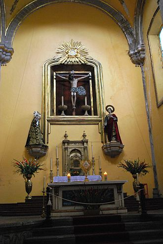 Santa Veracruz Church, Mexico City - Christ of the Seven Veils