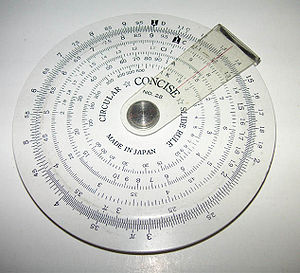 Addition - A circular slide rule
