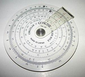 Addition - A circular slide rule