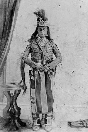 Whitman massacre - A Cayuse tribe member